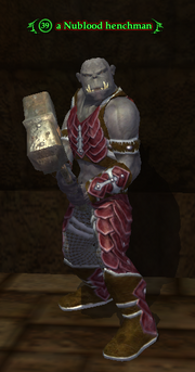 A Nublood henchman (Deathfist Citadel)