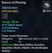 Bracers of Plowing