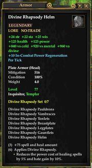 Divine Rhapsody Helm