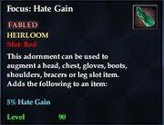 Focus Hate Gain