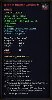 Precision Flightrift Armguards
