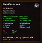 Ring of Wonderment