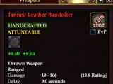 Tanned Leather Bandolier