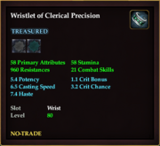 Wristlet of Clerical Precision