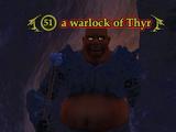 A warlock of Thyr