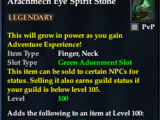Arachmech Eye Spirit Stone