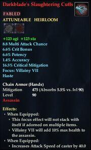 Darkblade's Slaughtering Cuffs