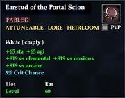 Earstud of the Portal Scion