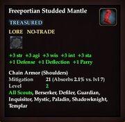 Freeportian Studded Mantle