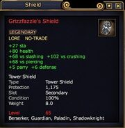 Grizzfazzle's Shield