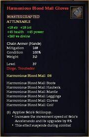 Harmonious Blood Mail Gloves