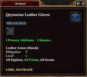 Qeynosian Leather Gloves