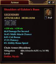 Shoulders of Eidolon's Boon