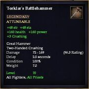Toklar's Battlehammer