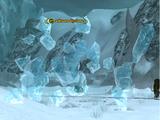 A Frozen Cyclone