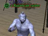 A Rujarkian raider