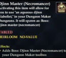 Djinn Master (Necromancer)