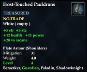 Frost-Touched Pauldrons