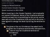 Grindsmaul's Revenge!