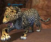 A sandfang stalker
