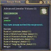 Advanced Jeweler Volume 21