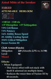 Astral Mitts of the Invoker