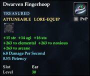 Dwarven Fingerhoop