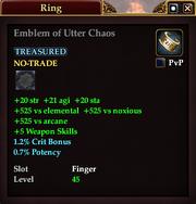 Emblem of Utter Chaos