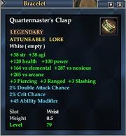 Quartermaster's Clasp
