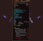 Withering Treant Branch Wand