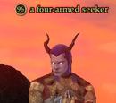 A four-armed seeker