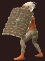 Ashen Bone Tower Shield (Equipped)