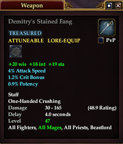 Demitry's Stained Fang