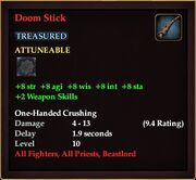 Doom Stick