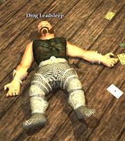 Drog Leadsleep