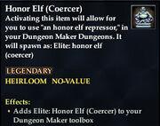 Honor Elf (Coercer)