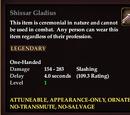 Shissar Gladius
