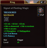 Signet of Fleeting Magic