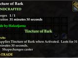 Tincture of Bark