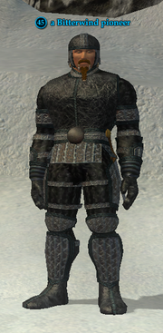 A Bitterwind pioneer (solo) (barbarian)