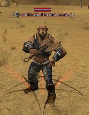 A Bloodskull Mahut mender