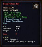 Boombottom Belt