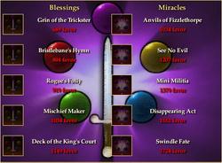 Bristlebane Blessings and Miracles