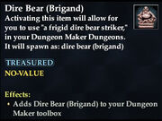 Dire Bear (Brigand)