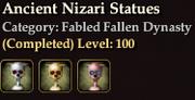 Fabled Nizari Statues
