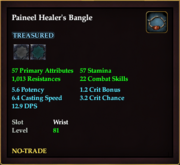 Paineel Healer's Bangle