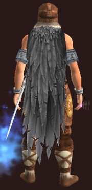 Pegasus Feather Cloak (Equipped)