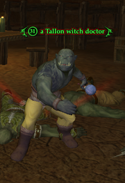 A Tallon witch doctor