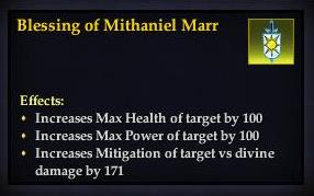 Blessing of Mithaniel Marr