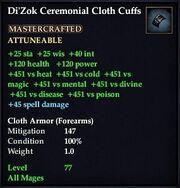 Di'Zok Ceremonial Cloth Cuffs